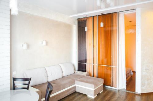 Гостиная зона в Аппартаменты на Курортном Проспекте 105