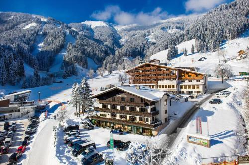 Pension Margarete during the winter