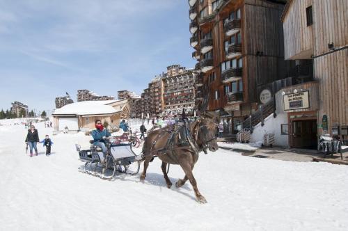 Maeva Particuliers Résidence Les Portes du Soleil during the winter