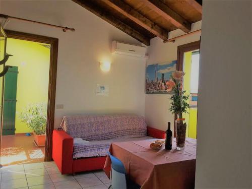 Posezení v ubytování Villaggio Laguna