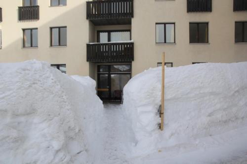 Hotel Stille im Winter