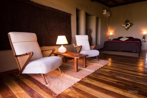 Un lugar para sentarse en El Soberbio Lodge