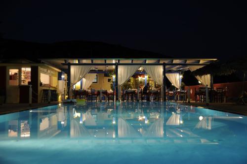 The swimming pool at or near Villa Michalis