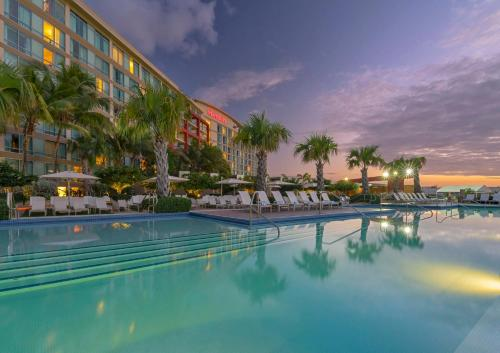 The swimming pool at or near Sheraton Puerto Rico Hotel & Casino