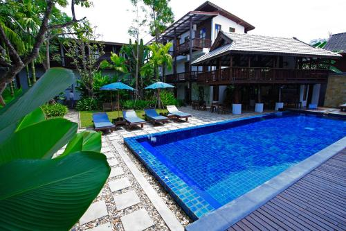 The swimming pool at or near Banthai Village