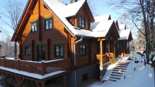 Obiekt Dom Bratek zimą