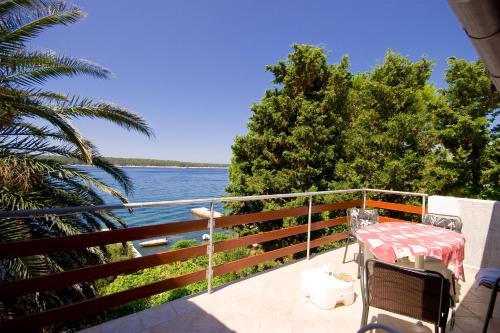 A balcony or terrace at Apartments Vila Miranda