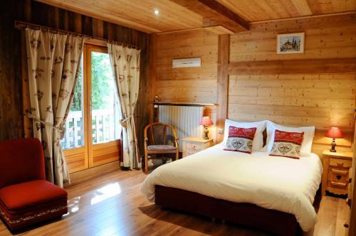 Un ou plusieurs lits dans un hébergement de l'établissement La Ferme d'Emilienne
