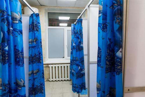 Ванная комната в Lucky Hostel