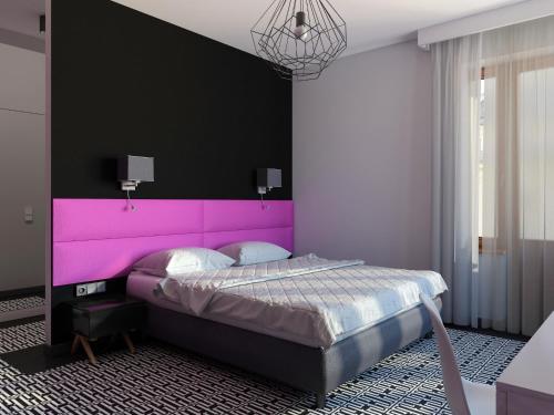 Cama o camas de una habitación en Liv'Inn Aparthotel