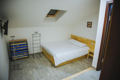 A bed or beds in a room at Ungweiser