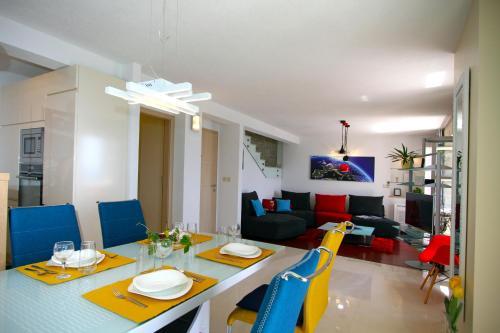 Restaurace v ubytování Apartment Allure