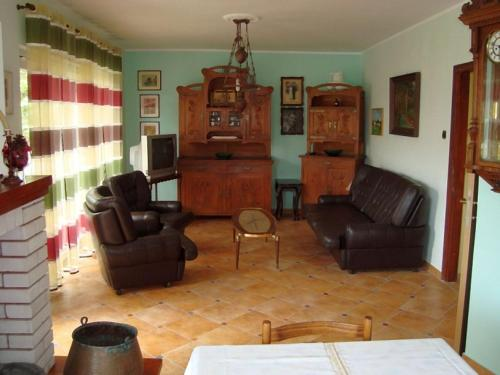 A seating area at Apartman Marija Krok
