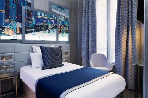 Ein Bett oder Betten in einem Zimmer der Unterkunft Palym