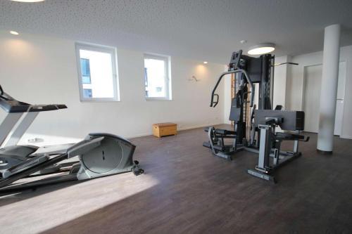 Das Fitnesscenter und/oder die Fitnesseinrichtungen in der Unterkunft Südkap G-06
