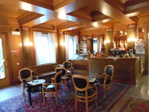 Лаундж или бар в Hotel Auronzo