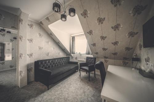 Część wypoczynkowa w obiekcie Pokoje gościnne Truskawkowa 1a