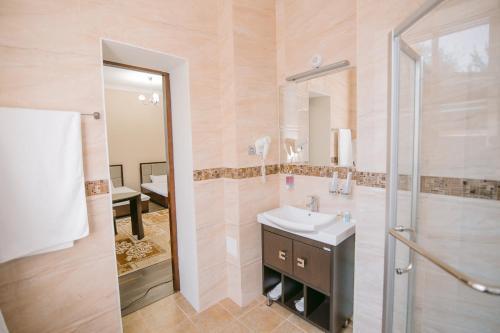 Ванная комната в Hotel Inju