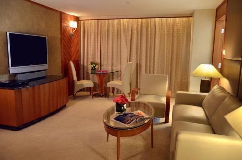 A seating area at Grandview Hotel Macau