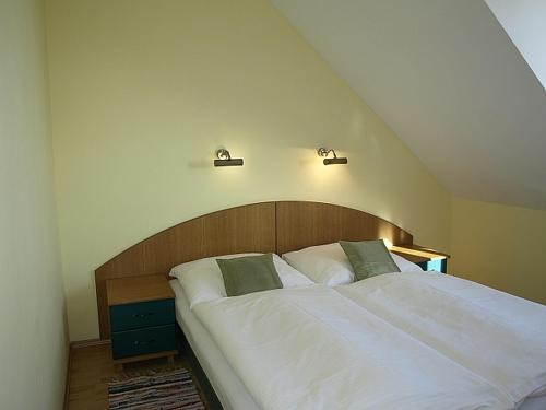 Posteľ alebo postele v izbe v ubytovaní Vila Beba