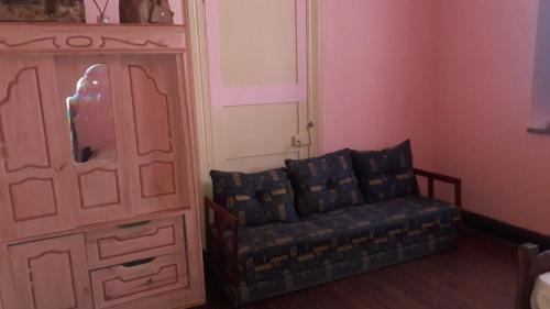 Un lugar para sentarse en Hostel La Rosa De Los Vientos