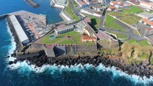 A bird's-eye view of Pousada de Angra do Heroismo Castelo de S. Sebastiao