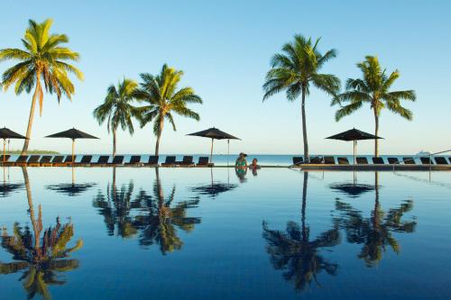 The swimming pool at or near Hilton Fiji Beach Resort and Spa