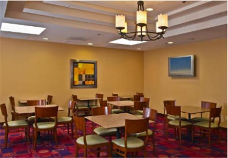 A restaurant or other place to eat at Residence Inn Washington, DC / Dupont Circle