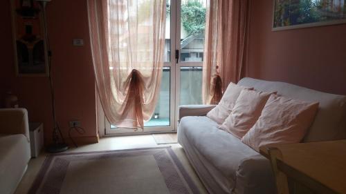 Area soggiorno di Casa Lilla