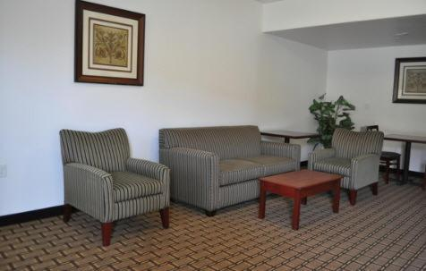 A seating area at City Center Inn