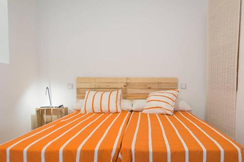 Cama o camas de una habitación en Apartamento Toledano SXVI