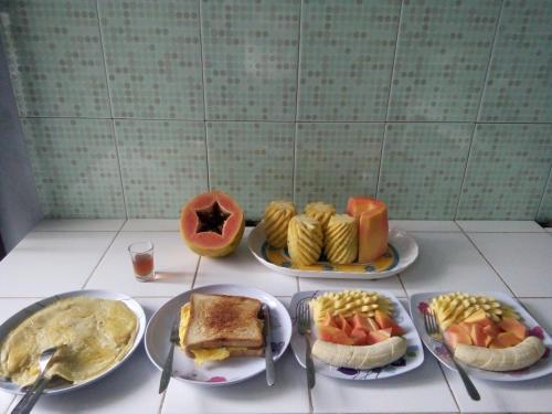 Frühstücksoptionen für Gäste der Unterkunft Maharani Homestay