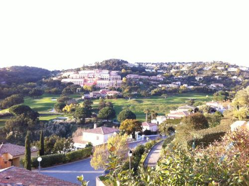 A bird's-eye view of Mazet sur le golf