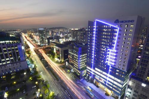 A bird's-eye view of Value Hotel Worldwide Suwon