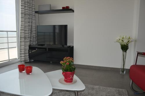 TV/Unterhaltungsangebot in der Unterkunft 4B @ Longchamp