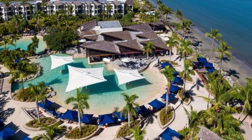 A bird's-eye view of Radisson Blu Resort Fiji