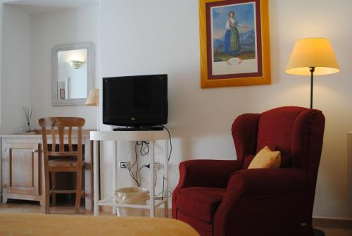 Area soggiorno di Hotel Giardino Giamperduto