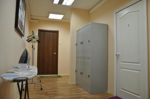 Телевизор и/или развлекательный центр в Хостел Славянка