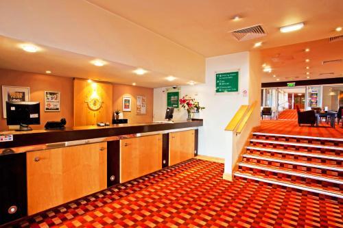 The lobby or reception area at Britannia Hotel Bolton