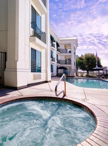 The swimming pool at or near Sequoia Inn