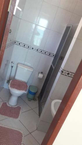 Um banheiro em Pousada Cantinho das Pedras