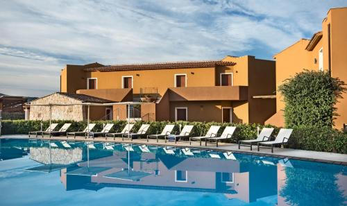 The swimming pool at or near Terra Di Mare Resort&Spa