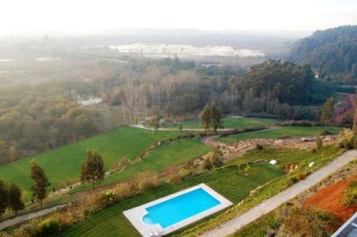 A bird's-eye view of Estalagem Quinta do Louredo