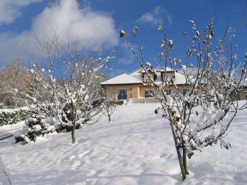 L'établissement La Chenaz en hiver