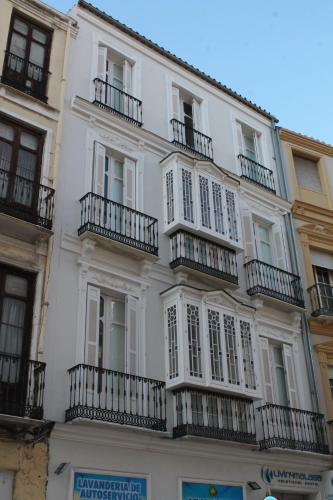 Byggnaden som lägenheten ligger i