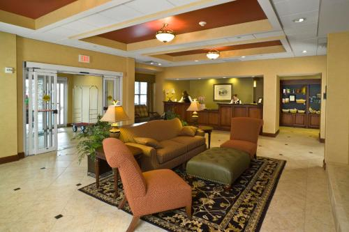 The lobby or reception area at Homewood Suites by Hilton Portland
