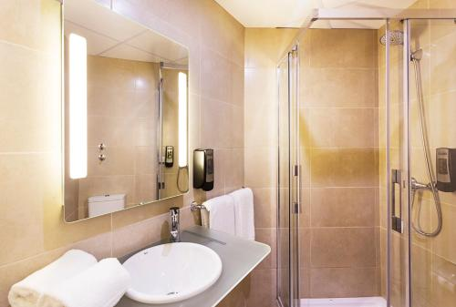 Un baño de B&B Hotel Vigo