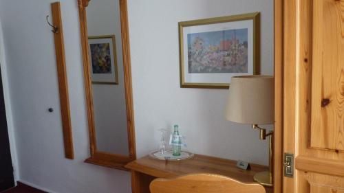Ein Badezimmer in der Unterkunft Gasthof Willenbrink