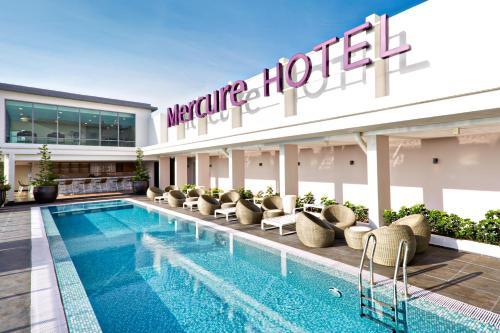 吉隆坡邵氏廣場美居酒店游泳池或附近泳池