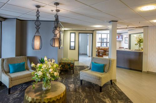 Hall ou réception de l'établissement The Voyager Inn